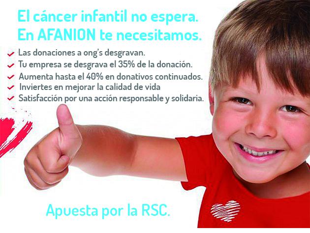 Afanion - Niños con Cancer - Con ayuda de todos
