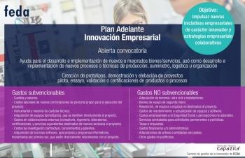 Abierto plazo ayudas Innova Adelante - Innovación empresarial. 05/06/2019 al 04/11/2019.