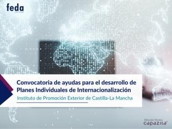Convocatoria de ayudas para el desarrollo de Planes Individuales de Internacionalización