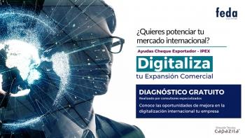 AYUDAS CHEQUE EXPORTADOR 2020-2021. Descubre las oportunidades de mejora en la transformación digital internacional de tu empresa